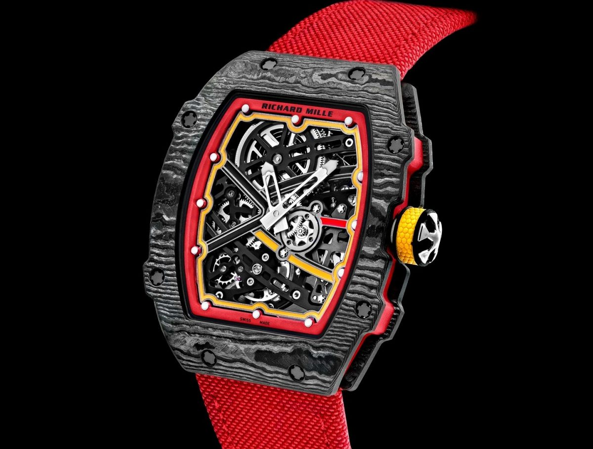 Richard Mille RM 67-02 Alexander Zverev Edition Swiss Made Clone Watches