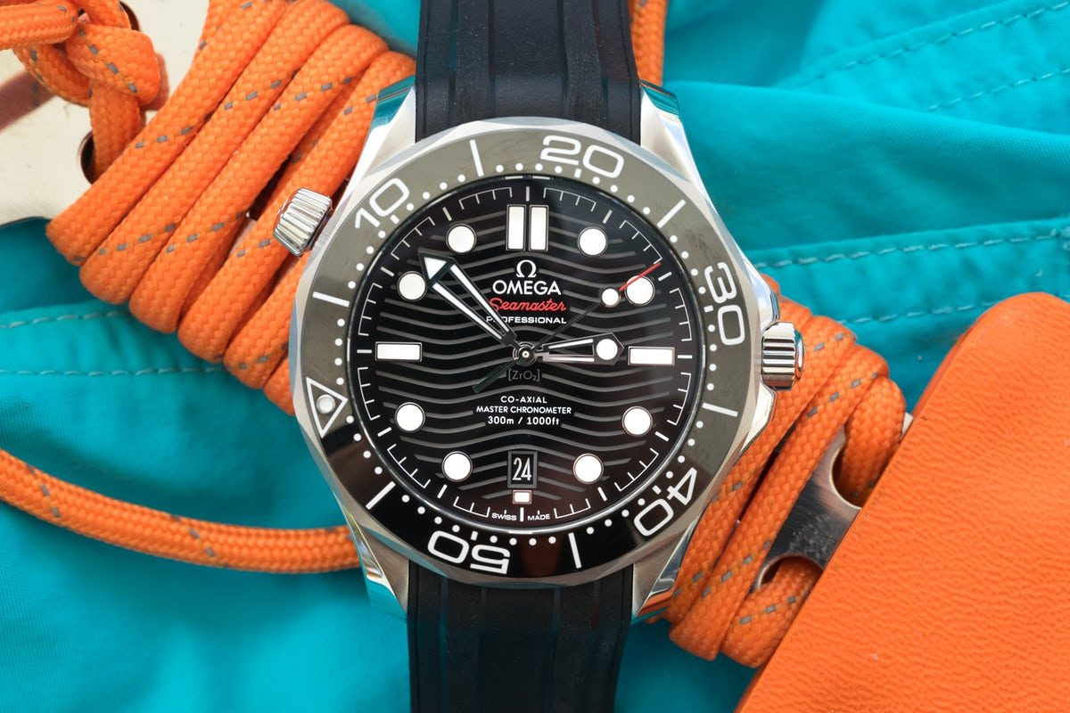 In-Depth Diving With The Omega Seamaster Professional 300M Swiss Eta Movement Replica Watch
