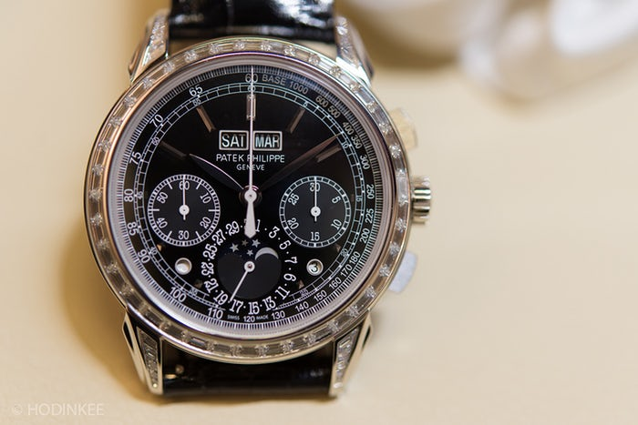 A Week On Your Wrist The Patek Philippe 5270G Perpetual Calendar Chronograph Perfect Replica Watches