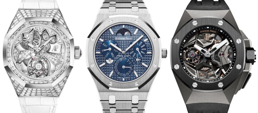 Three New Audemars Piguet Royal Oak Swiss Made Knock Off Watch For 2018