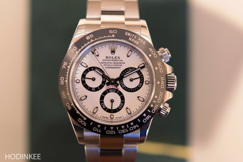 Hands-On The New Rolex Daytona Reference 116500LN Perfect Clone Watches