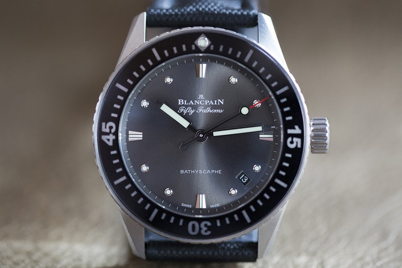 Hands-On The Blancpain Fifty Fathoms Bathyscaphe 38mm Top Quality Fake Watch