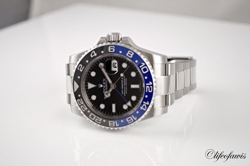 Rolex GMT-Master II (116710BLNR) Swiss Made Imitation Watches