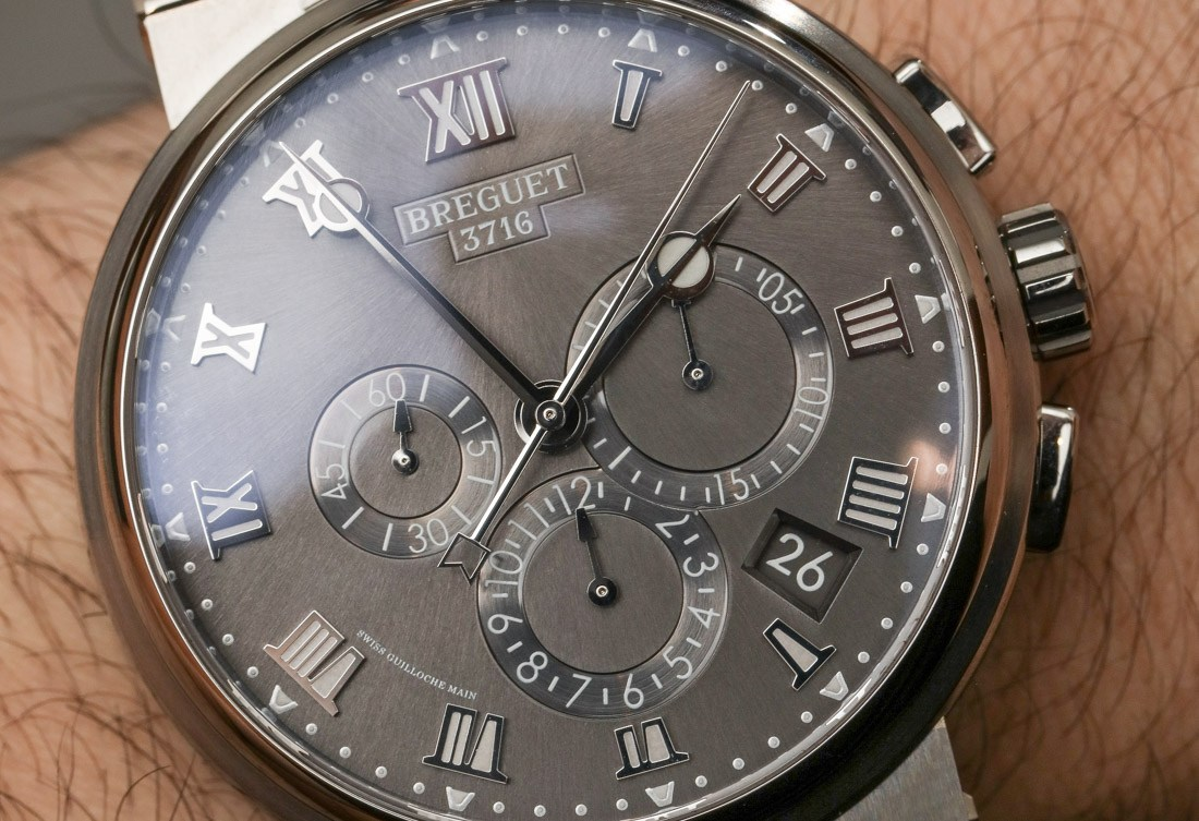 Breguet Marine Chronograph 5527 Titanium Online Replica Watch Hands-On