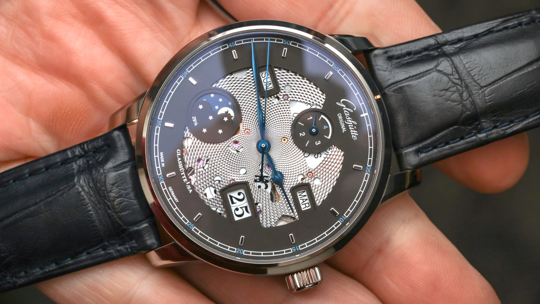 Glashütte Original Senator Excellence Perpetual Calendar 'Skeletonized' Swiss Made Replica Watches Hands-On