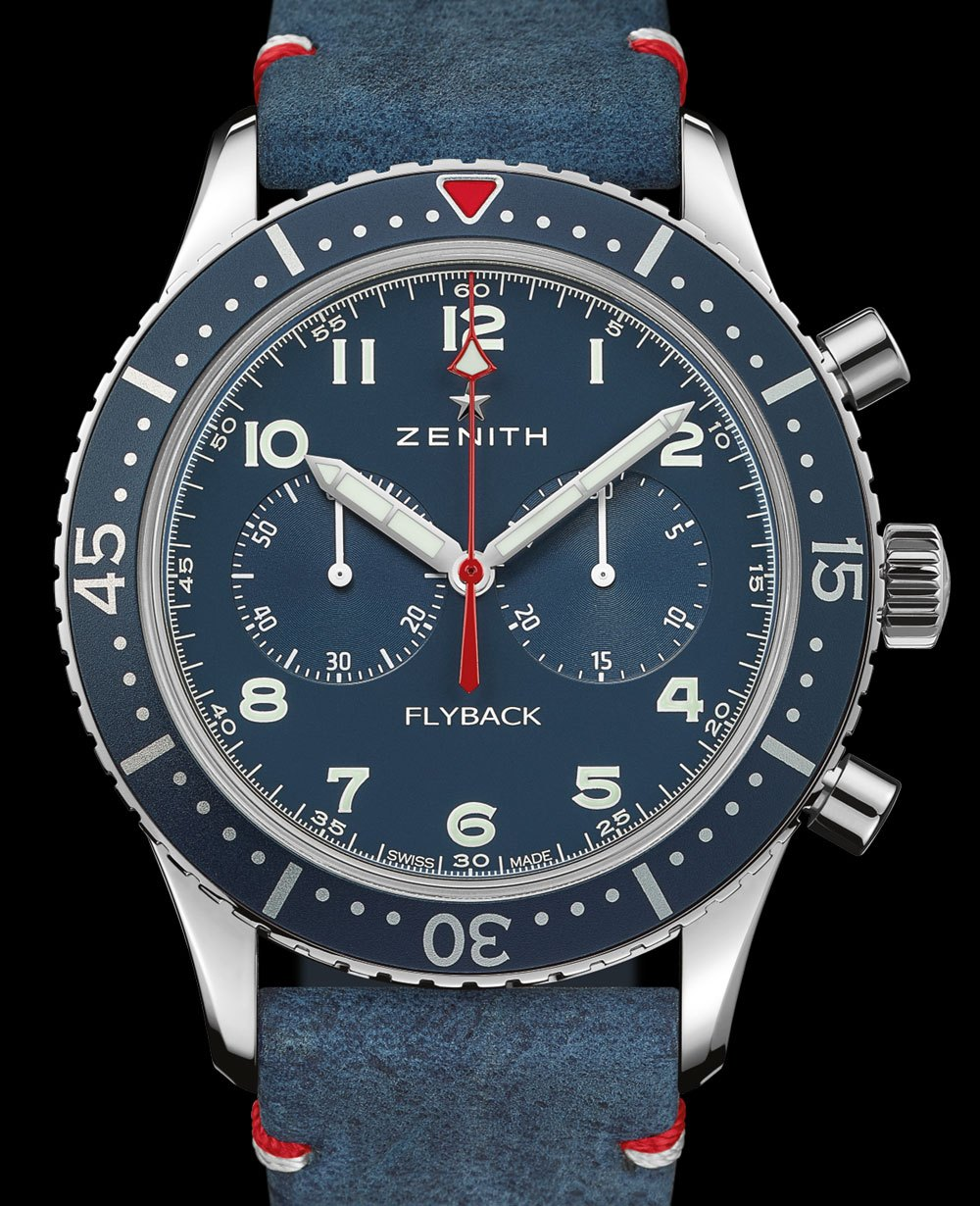 Zenith Pilot Cronometro Tipo CP-2 USA Edition High End Clone Watches