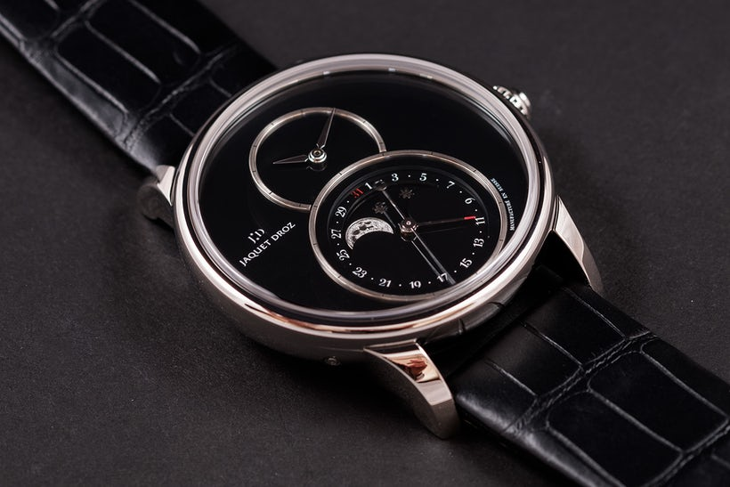 Hands-On The Jaquet Droz Grande Seconde Moon Onyx Best Imitation Watches