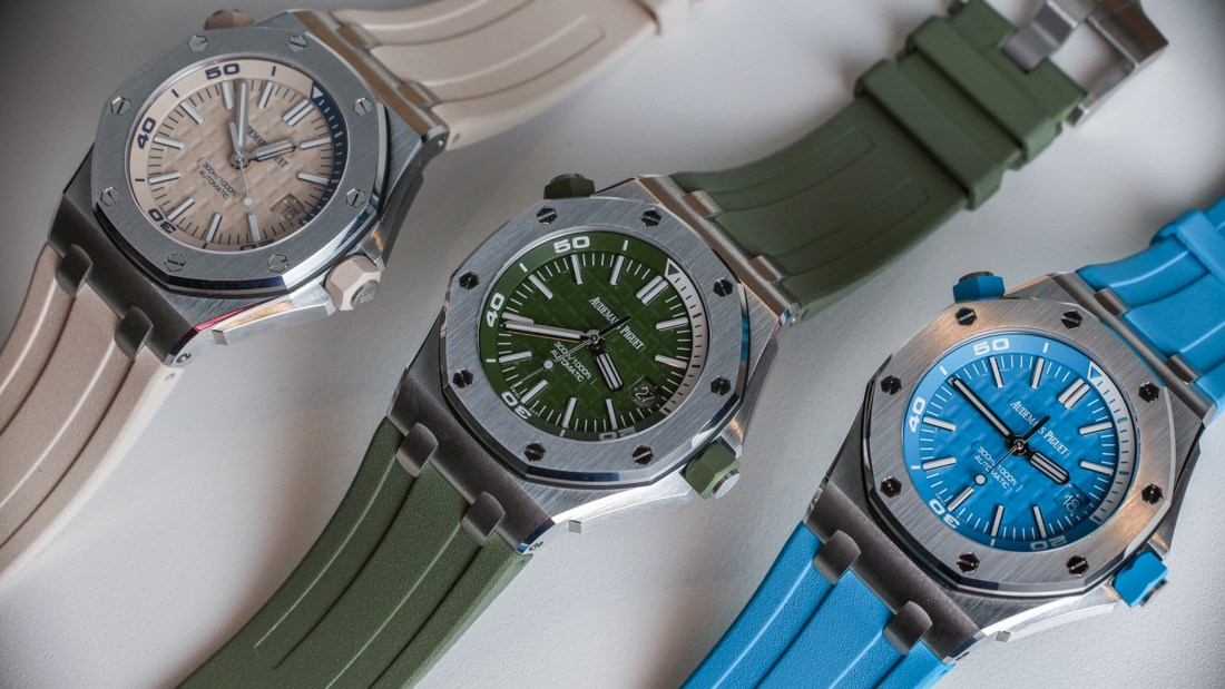 Audemars Piguet Royal Oak Offshore Divers Perfect Imitation Watch In New Colors For 2018 Hands-On