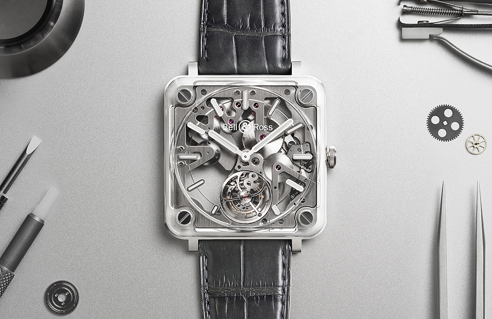 Overall Transparency: Bell & Ross BR-X2 Skeleton Tourbillon Micro-Rotor Exact Clone Replica Watch