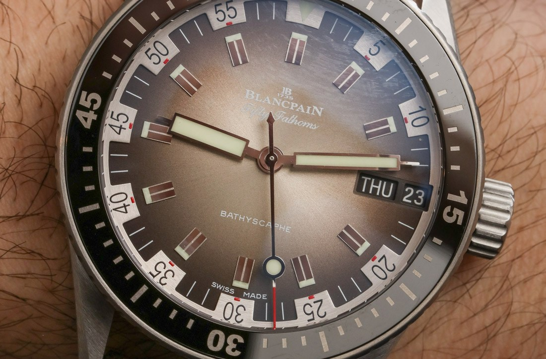 Blancpain Fifty Fathoms Bathyscaphe Day Date 70s Fine Imitation Watches Hands-On