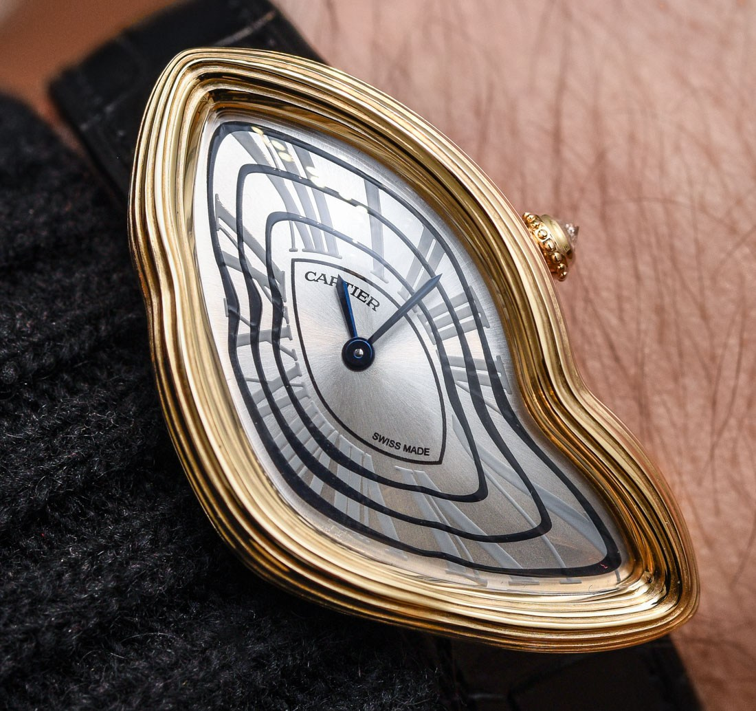 Cartier Crash Radieuse Swiss Fake Watches Hands-On