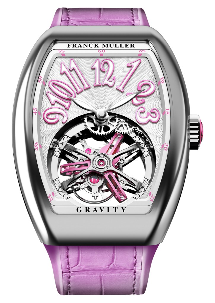 Franck Muller Vanguard Lady Tourbillon Gravity And Vanguard Heart Skeleton Quality Imitation Watches