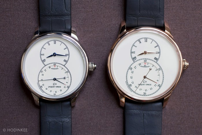Hands-On With The Jaquet Droz Grande Seconde Quantieme Ivory Enamel High End Replica Watches