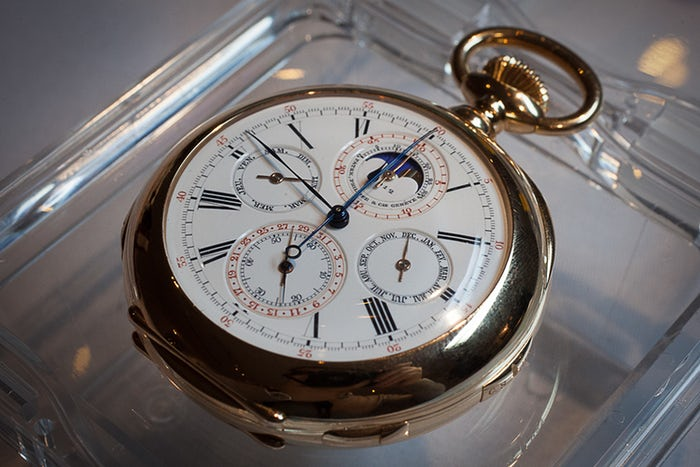 The Earliest Known Patek Philippe Grand Complication Very Cheap Replica Watch To Be Performed By Christie's Twist In New York: Meet The Palmer Watch