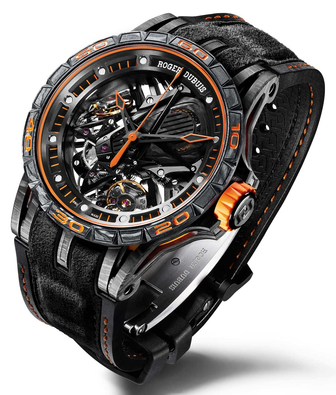Roger Dubuis Becomes Official Partner Of Lamborghini, Launches 2 High End Imitation Watches With All-New Duotor Caliber