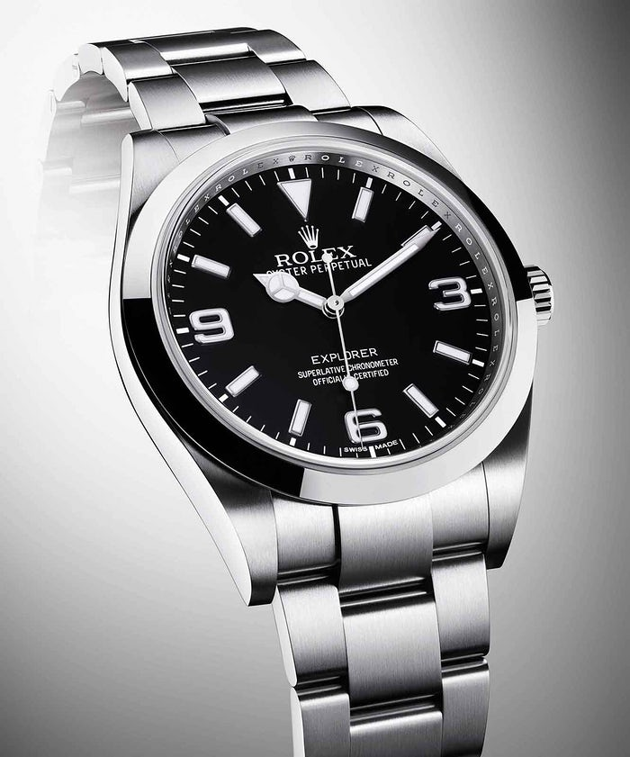 Introducing The New Rolex Oyster Perpetual Explorer Top Quality Fake Watches, Now With Chromalight Display, Updated Hands, And Superlative Chronometer Certification